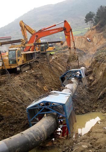 中缅天然气管道工程(缅甸段)