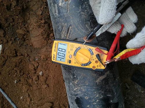 安钢煤气管道牺牲万博客户端手机版保护工程
