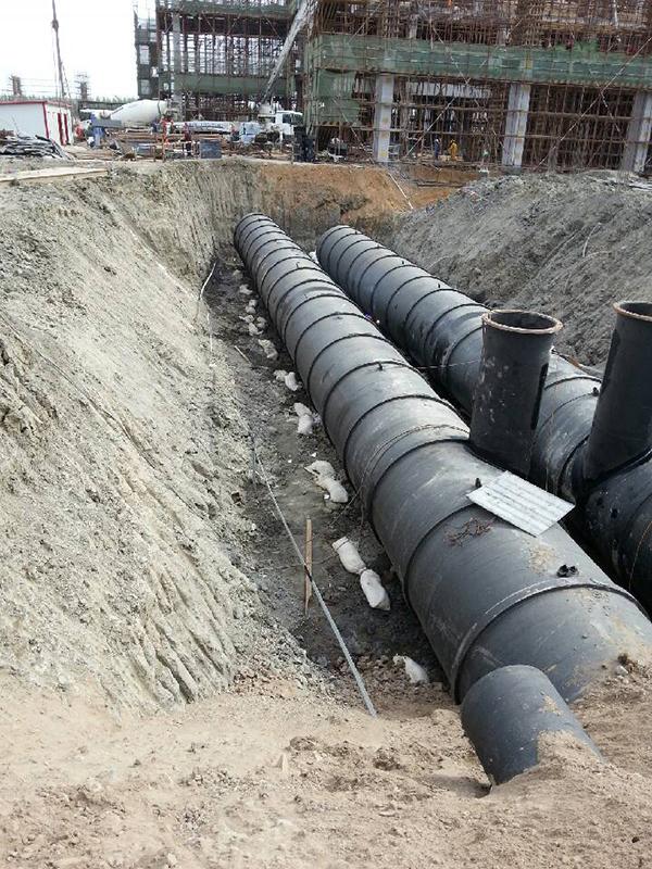 电厂循环水管道镁阳极安装 (2)